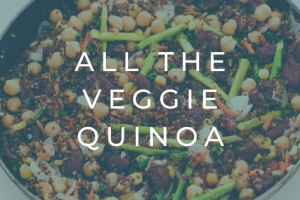 all the veggie quinoa